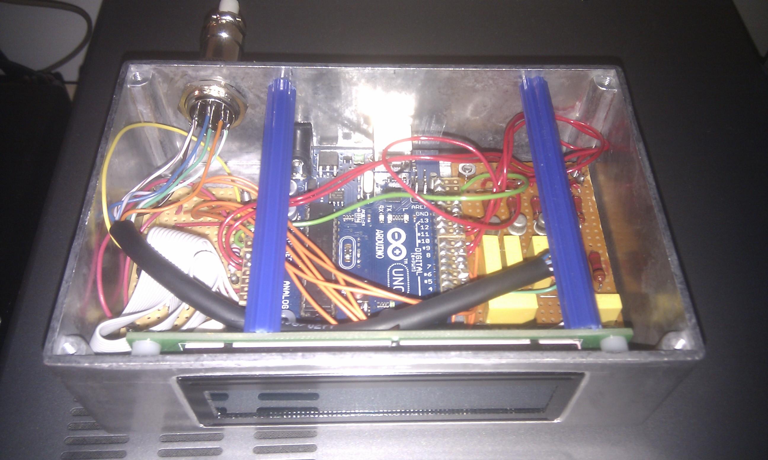 Rotator Controller Using Arduino and PstRotator   G4HSK