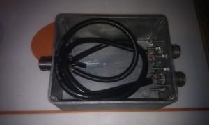 Wilkinson 144MHz 2 port splitter