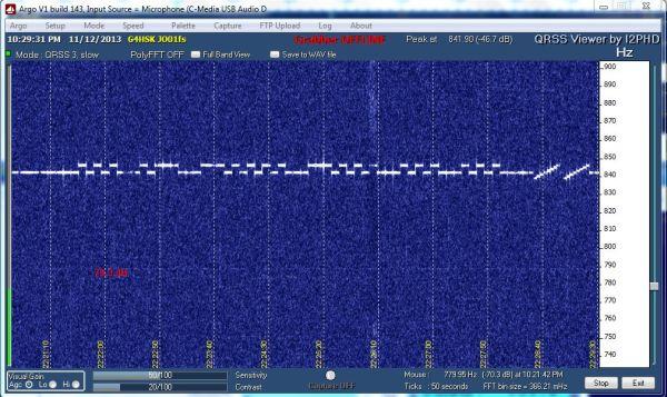 10.140Mhz 2013-11-12 Argo SA6BSS