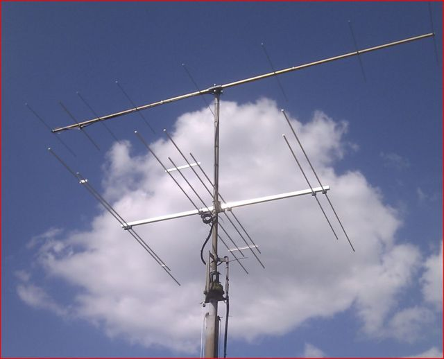 New 2m, and dual 4 & 6m yagi installation