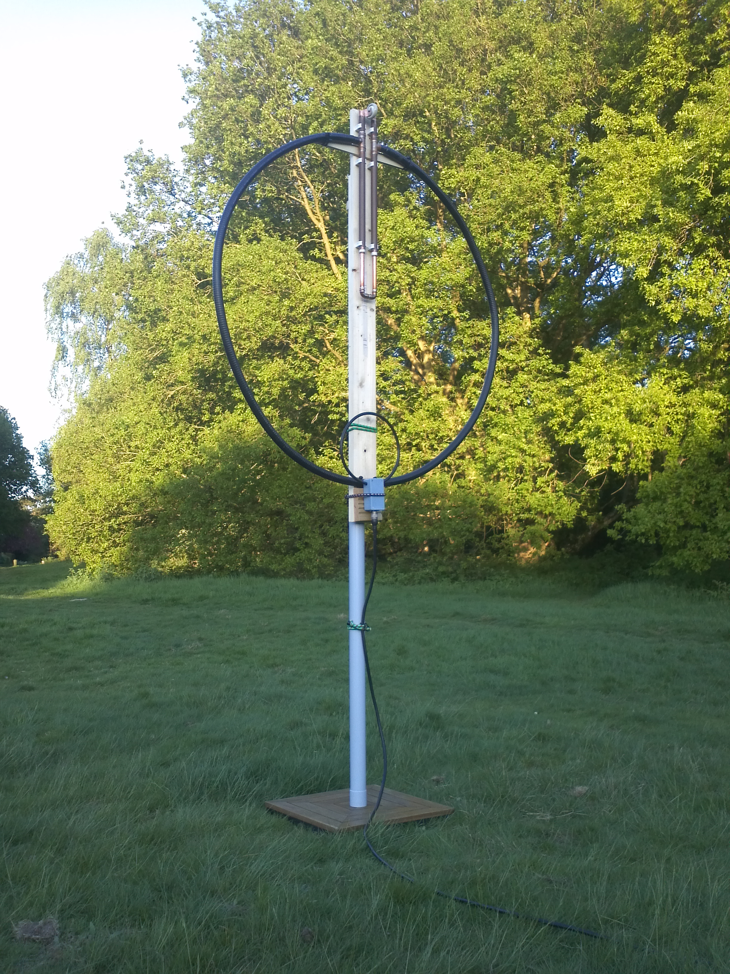 LDF5-50 based Magnetic Loop Antenna | G4HSK