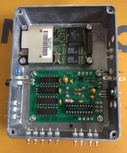 GPS and PLL board enclosure