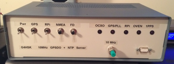 10MHz GPS Disciplined Oscillator and NTP Server | G4HSK