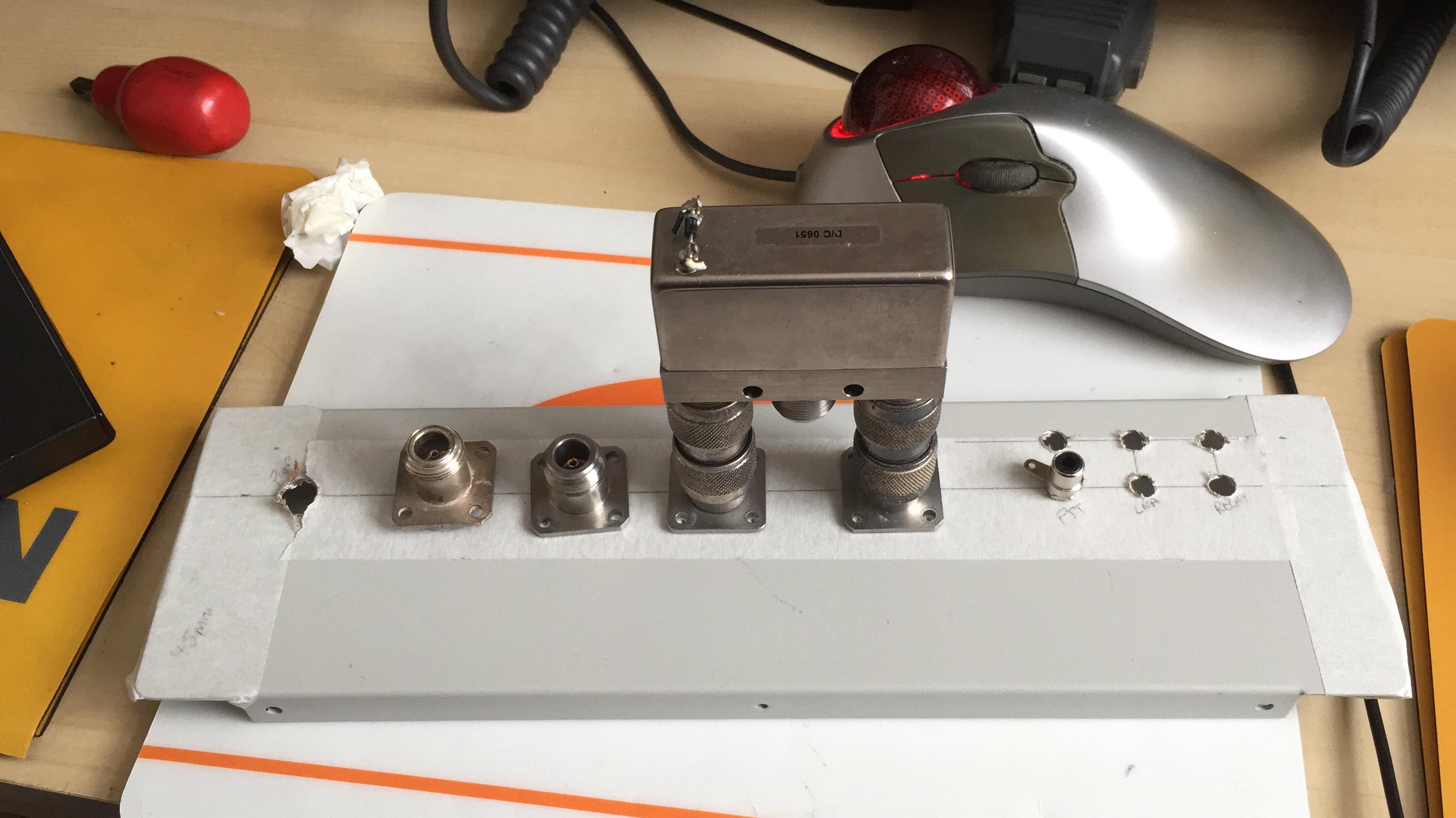 Tidy-up of the 1 3GHz Transverter | G4HSK